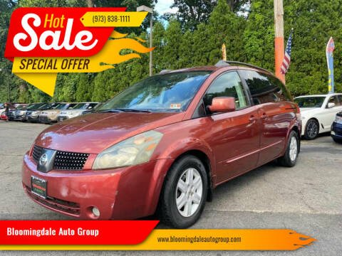 2004 Nissan Quest for sale at Bloomingdale Auto Group - The Car House in Butler NJ
