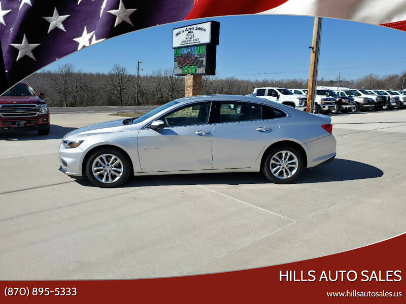 2018 Chevrolet Malibu for sale at Hills Auto Sales in Salem AR