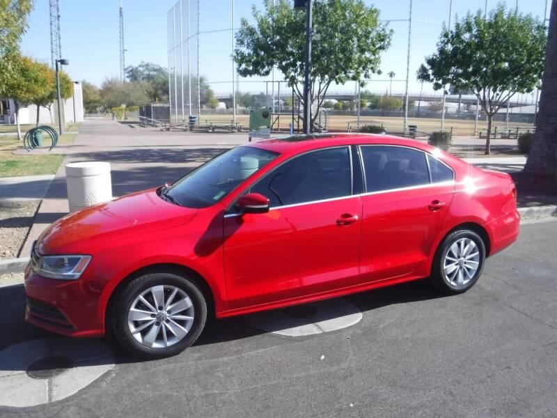 2015 Volkswagen Jetta for sale at J & E Auto Sales in Phoenix AZ