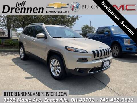 2015 Jeep Cherokee for sale at Jeff Drennen GM Superstore in Zanesville OH