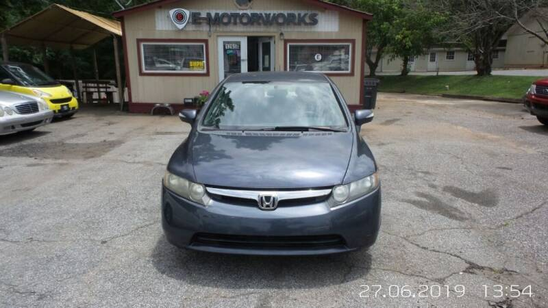 2004 Honda Civic for sale at E-Motorworks in Roswell GA
