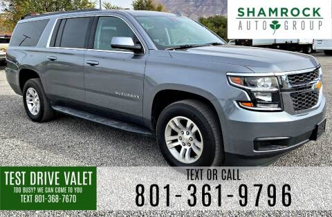 2020 Chevrolet Suburban for sale at Shamrock Group LLC #1 in Pleasant Grove UT