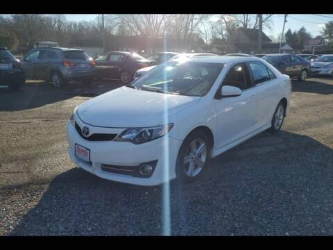 2012 Toyota Camry for sale at Colonial Motors in Mine Hill NJ