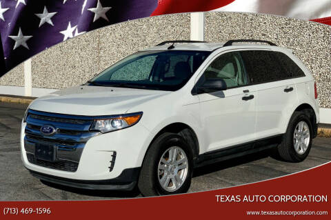 2013 Ford Edge for sale at Texas Auto Corporation in Houston TX