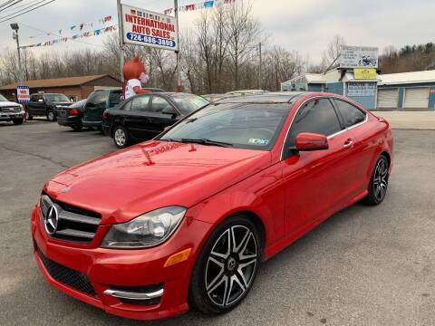2014 Mercedes-Benz C-Class for sale at INTERNATIONAL AUTO SALES LLC in Latrobe PA