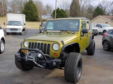 2008 Jeep Wrangler Unlimited for sale at K & P Used Cars, Inc. in Philadelphia TN