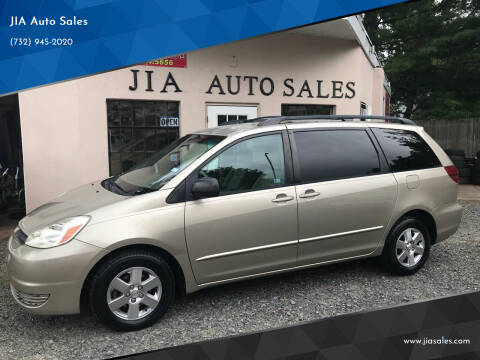 2005 Toyota Sienna for sale at JIA Auto Sales in Port Monmouth NJ