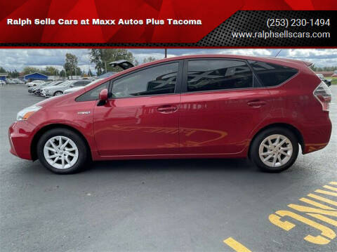 2014 Toyota Prius v for sale at Ralph Sells Cars at Maxx Autos Plus Tacoma in Tacoma WA