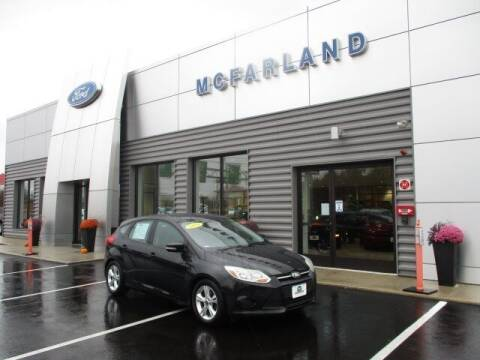 2014 Ford Focus for sale at MC FARLAND FORD in Exeter NH