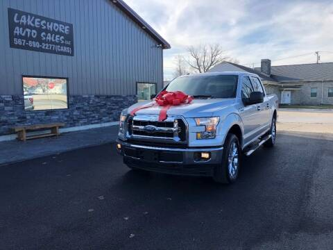 2017 Ford F-150 for sale at Lakeshore Auto Sales LLC in Celina OH