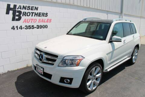 2011 Mercedes-Benz GLK for sale at HANSEN BROTHERS AUTO SALES in Milwaukee WI
