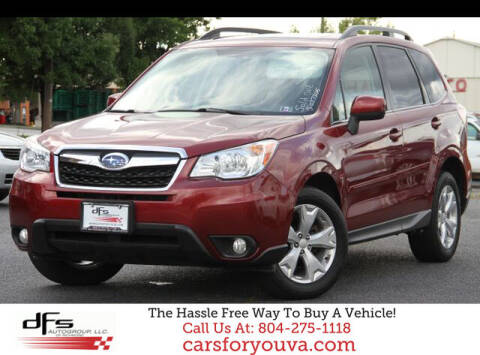 2014 Subaru Forester for sale at DFS Auto Group of Richmond in Richmond VA
