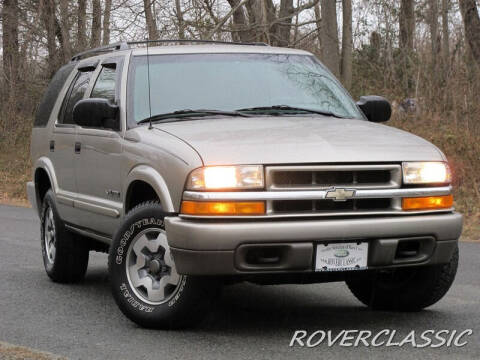 2002 Chevrolet Blazer for sale at Isuzu Classic in Cream Ridge NJ