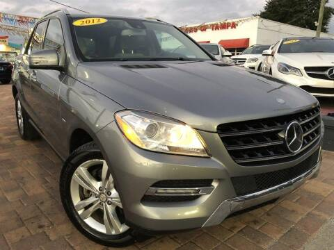 2012 Mercedes-Benz M-Class for sale at Cars of Tampa in Tampa FL
