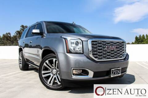 2018 GMC Yukon for sale at Zen Auto Sales in Sacramento CA