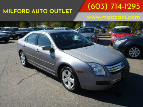 2007 Ford Fusion for sale at Milford Auto Outlet in Milford NH