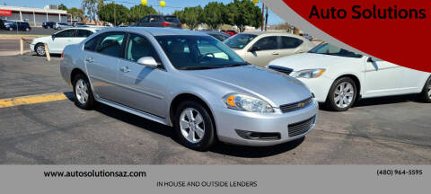 2011 Chevrolet Impala for sale at Auto Solutions in Mesa AZ