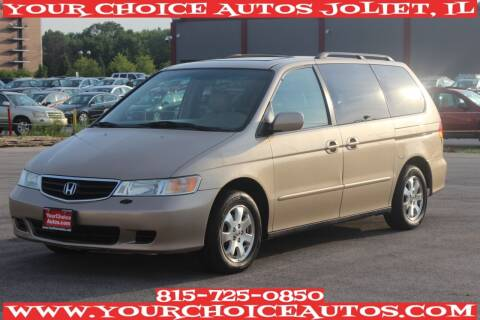 2002 Honda Odyssey for sale at Your Choice Autos - Joliet in Joliet IL
