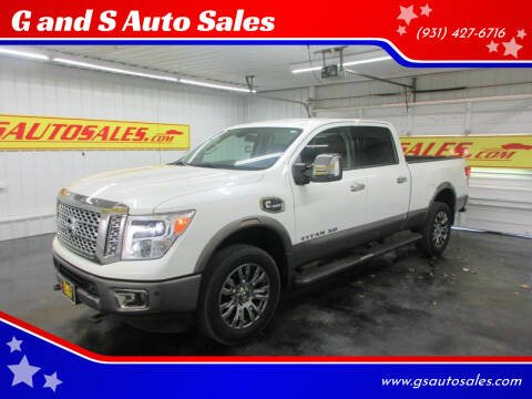 2017 Nissan Titan XD for sale at G and S Auto Sales in Ardmore TN