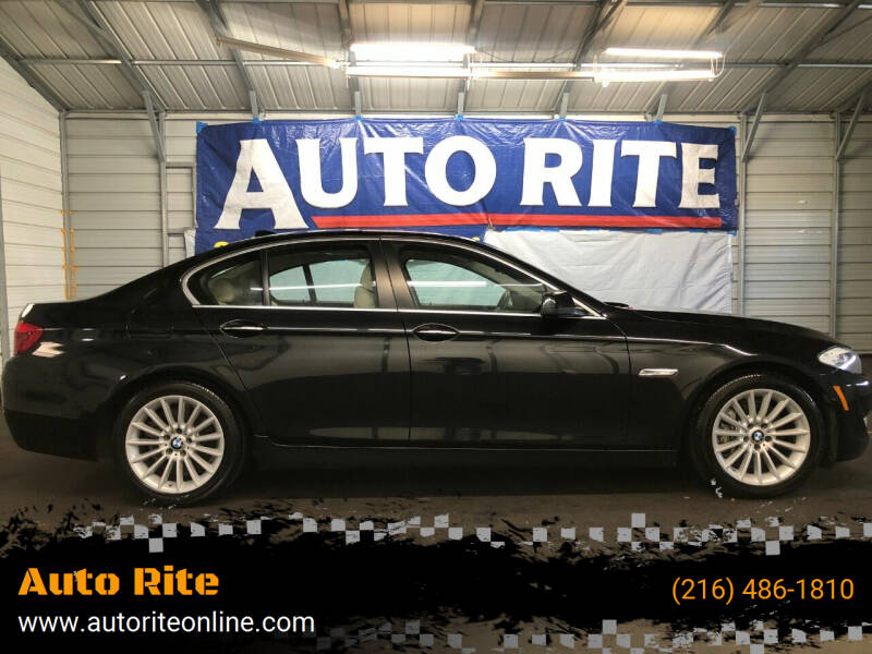 2013 BMW 5 Series for sale at Auto Rite in Bedford Heights OH