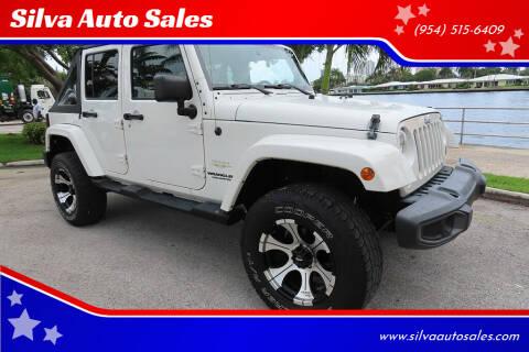 2010 Jeep Wrangler Unlimited for sale at Silva Auto Sales in Pompano Beach FL