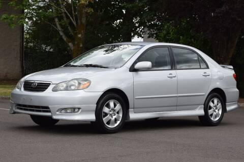 2005 Toyota Corolla for sale at Overland Automotive in Hillsboro OR