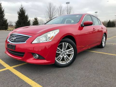 2011 Infiniti G37 Sedan for sale at Car Stars in Elmhurst IL