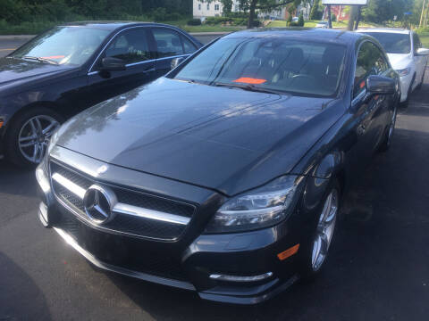 2013 Mercedes-Benz CLS for sale at MELILLO MOTORS INC in North Haven CT
