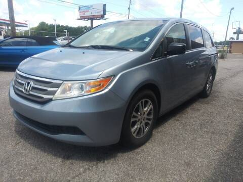 2012 Honda Odyssey for sale at Best Buy Autos in Mobile AL