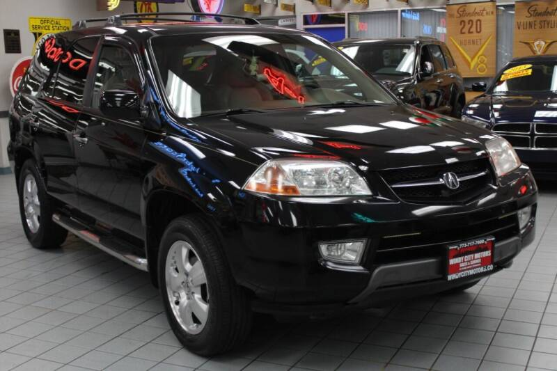 2003 Acura MDX for sale at Windy City Motors in Chicago IL