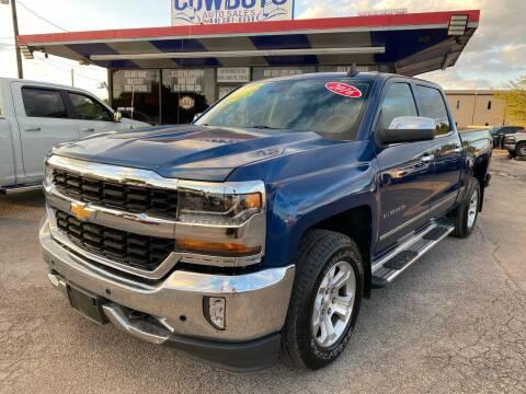 2016 Chevrolet Silverado 1500 for sale at Cow Boys Auto Sales LLC in Garland TX