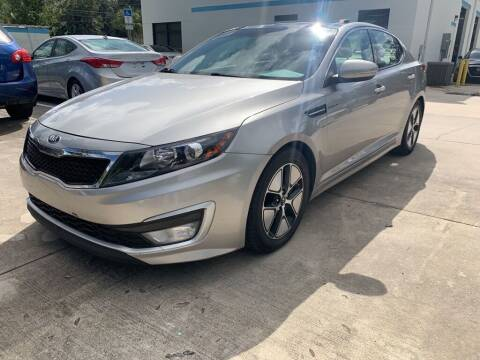 2013 Kia Optima Hybrid for sale at ETS Autos Inc in Sanford FL