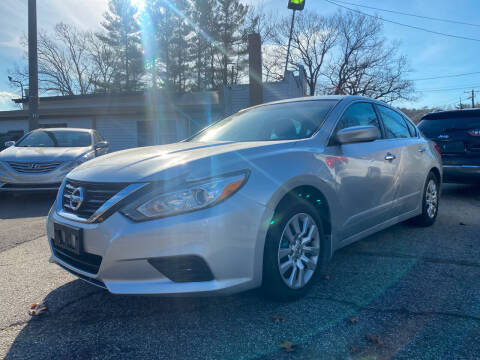 2016 Nissan Altima for sale at Royal Crest Motors in Haverhill MA
