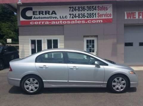 2011 Honda Civic for sale at Cerra Automotive LLC in Greensburg PA