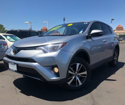 2018 Toyota RAV4 for sale at LUGO AUTO GROUP in Sacramento CA
