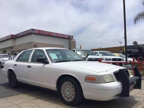 2004 Ford Crown Victoria for sale at CARCO SALES & FINANCE in Chula Vista CA