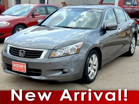 2009 Honda Accord for sale at Jacksons Car Corner Inc in Hastings NE