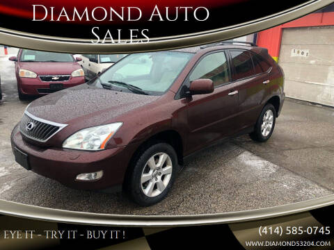 2008 Lexus RX 350 for sale at Diamond Auto Sales in Milwaukee WI