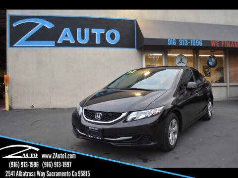2013 Honda Civic for sale at Z Auto in Sacramento CA