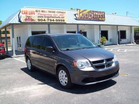 2015 Dodge Grand Caravan for sale at LONGSTREET AUTO in St Augustine FL