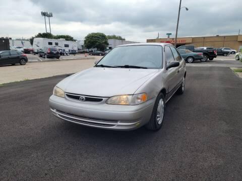2000 Toyota Corolla for sale at Image Auto Sales in Dallas TX