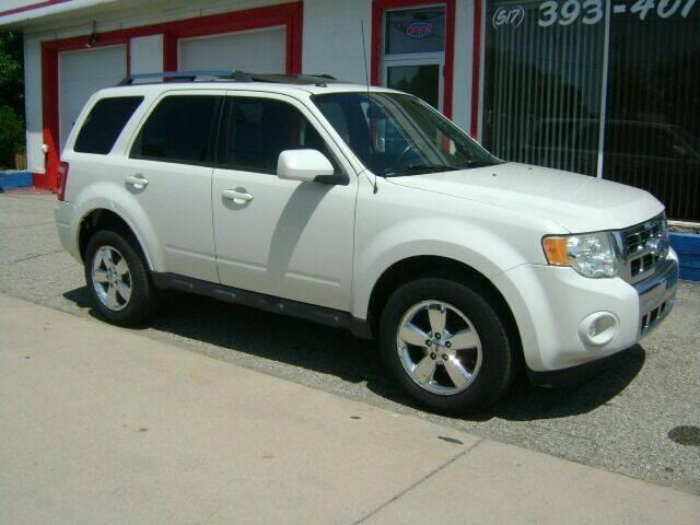 2010 Ford Escape for sale at Cedar Auto Sales in Lansing MI