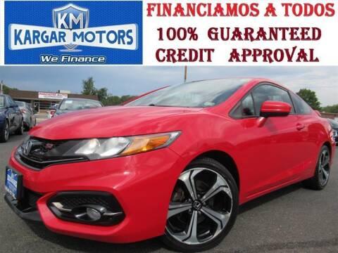 2015 Honda Civic for sale at Kargar Motors of Manassas in Manassas VA