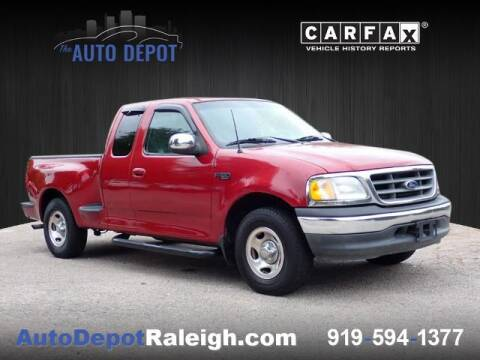 2001 Ford F-150 for sale at The Auto Depot in Raleigh NC