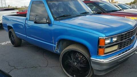 1989 Chevrolet C/K 1500 Series for sale at AFFORDABLE DISCOUNT AUTO in Humboldt TN
