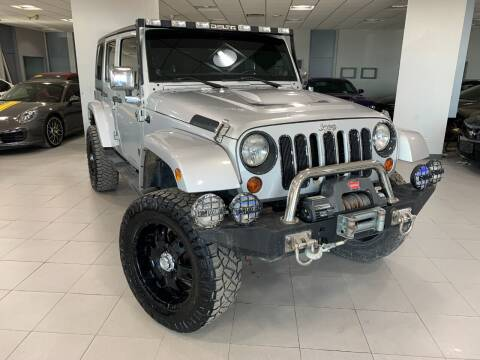 2012 Jeep Wrangler Unlimited for sale at Auto Mall of Springfield in Springfield IL
