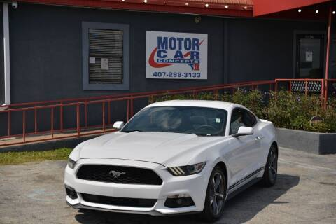2015 Ford Mustang for sale at Motor Car Concepts II - Kirkman Location in Orlando FL