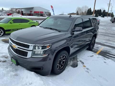 2015 Chevrolet Tahoe for sale at ALOTTA AUTO in Rexburg ID