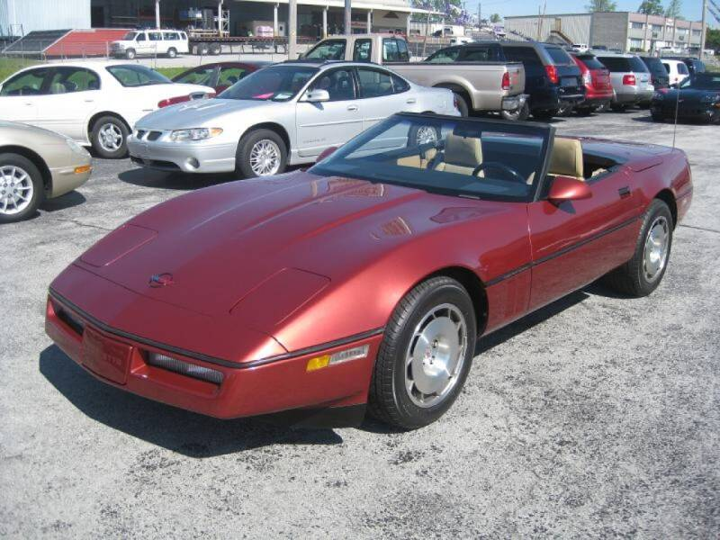 1986 Chevrolet Corvette for sale at Budget Corner in Fort Wayne IN