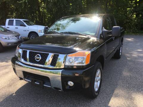 2012 Nissan Titan for sale at Lou Rivers Used Cars in Palmer MA